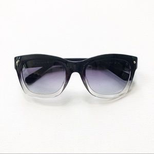 Kate Spade Kisha Gradient Black Sunglasses
